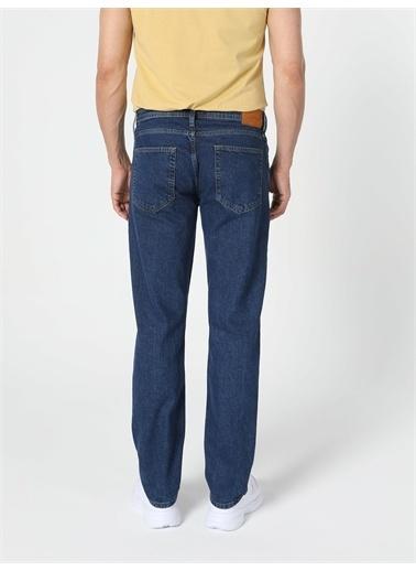 Colin's CL1056831_Q1.V1_DN41704 045 Davıd Regular Fit Orta Bel Düz Paça Erkek Jean Pantolon Renkli
